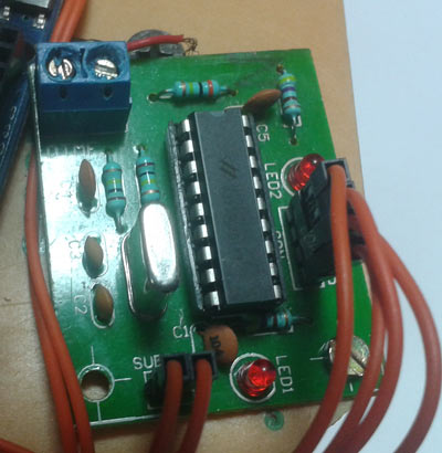 Dtmf Module on Mobile Circuit Diagram
