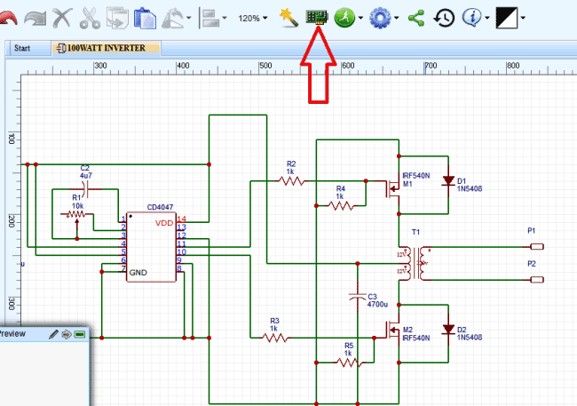 Design electronic circuits online for free with easyeda pcb layout conversion using easyeda after we go to schematic asfbconference2016 Image collections