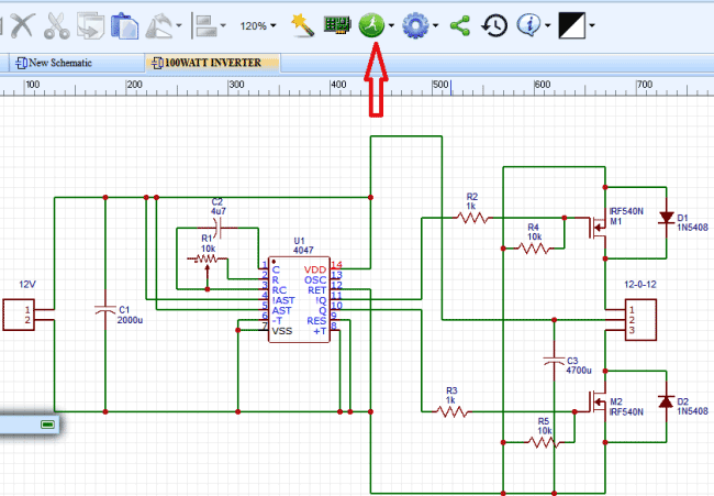Design electronic circuits online for free with easyeda simulating the circuit in easyeda asfbconference2016 Image collections