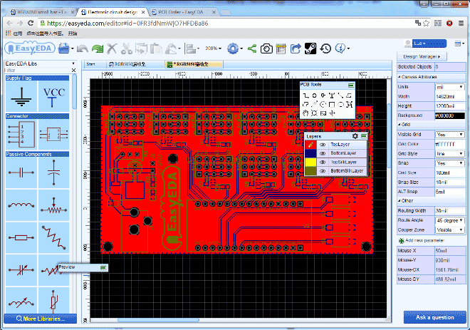 LED-scroll-bar-PCB-layout