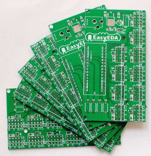 LED-scroll-bar-PCBs-easyeda