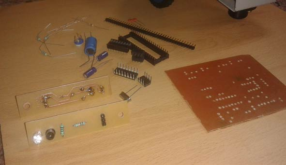 PCB Design at home step 11a