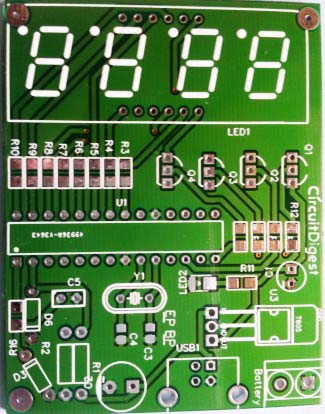 PCB-for-car-Battery-Voltage-Monitoring-system