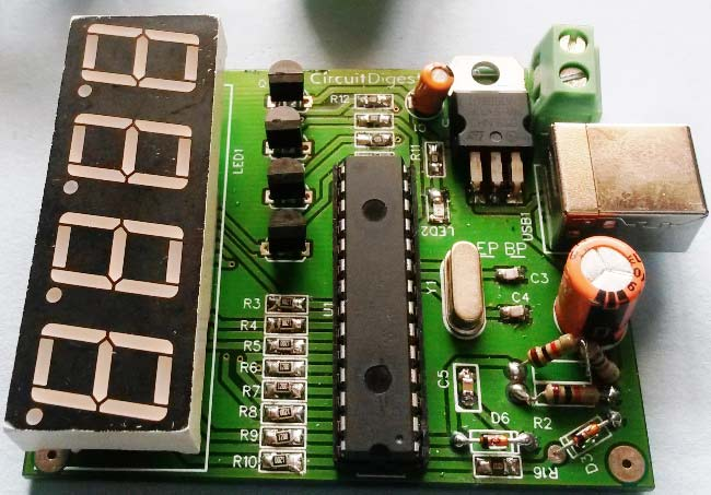 PIC-based-car-Battery-Voltage-Monitoring-system-on-pcb