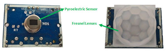 PIR Sensor from Inside