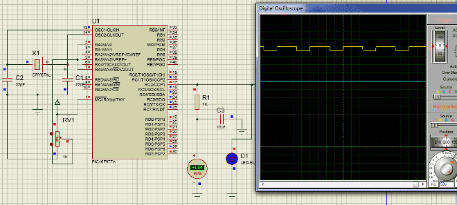 PIC Microcontroller PWM Tutorial using MPLAB and XC8