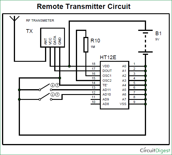 Rf Circuit Diagrams - Wiring Diagram Img