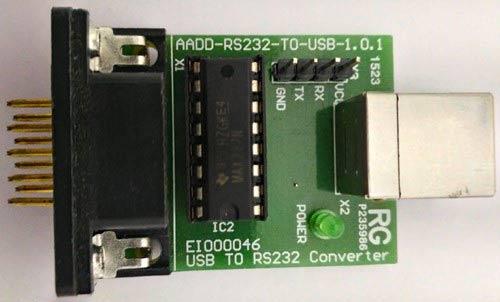 Преобразователь usb rs232