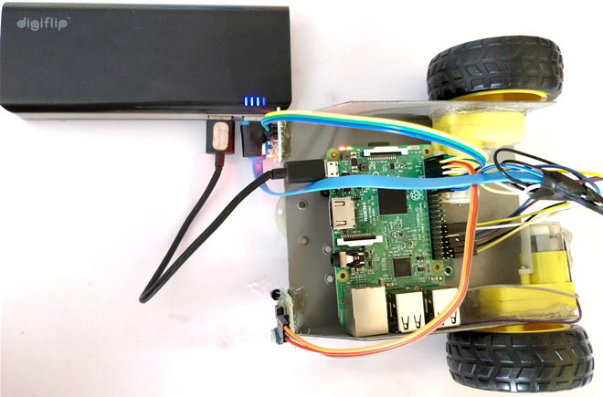 Raspberry Pi Based Line Follower Robot with Python Code