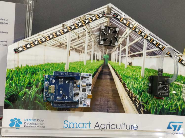STMicroelectronics Smart Agriculture Demo