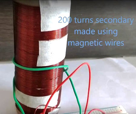 How to Make a Mini Tesla Coil 9v - Wireless Power Transmission