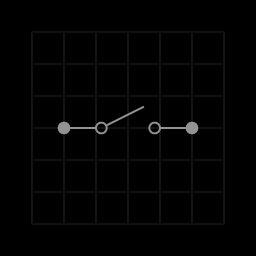 Single pole single throw switch SPST