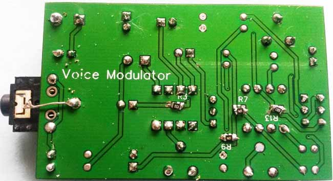 Voice-Modulator-Circuit-PCB-backside