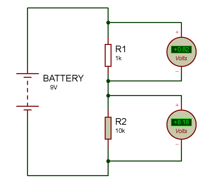 Superb Potential Or Voltage Divider Circuit Diagram And Formula Wiring Cloud Oideiuggs Outletorg