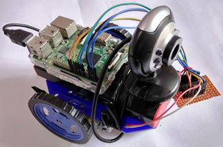 Web-based-Raspberry-Pi-Surveillance-Robot