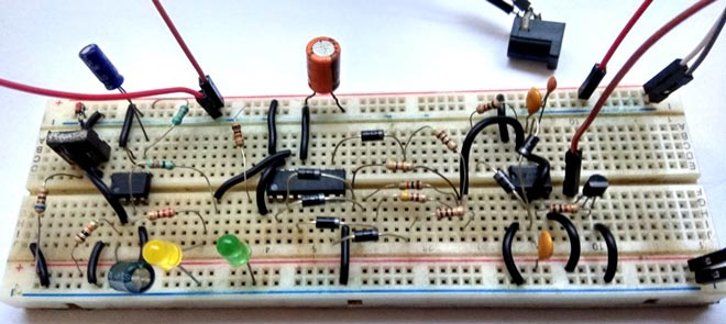 Wireless DC Motor Speed Control Circuit using IR Remote and