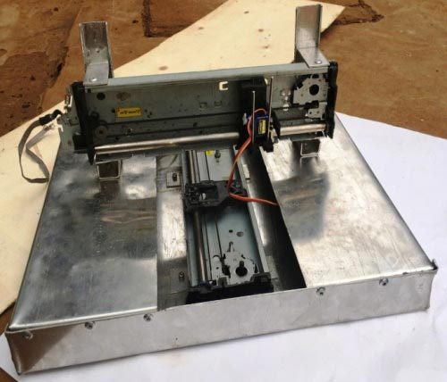 assembly of z-axis for arduino CNC machine