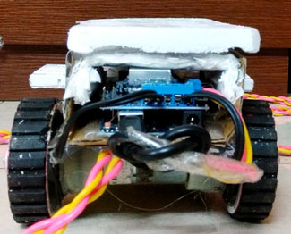 automatic home cleaning robot using arduino