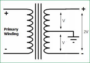 12V and -12V Dual Power Supply Circuit Diagram
