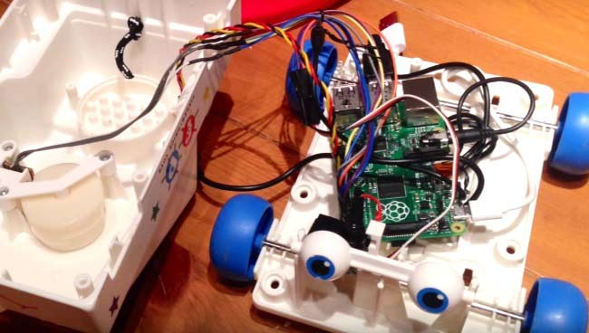 Talking Chatter SmartPhone using a Raspberry Pi