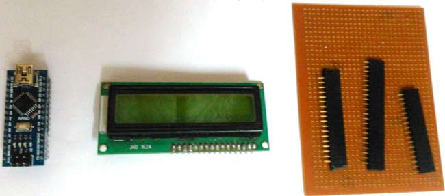 components-for-LCD-with-Arduino-nano