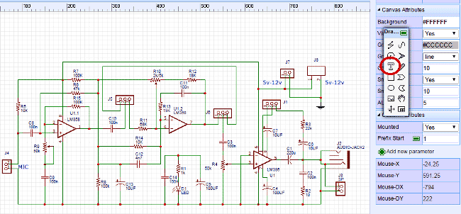 design-Circuit-of-Voice-Modulator-Circuit-with-EasyEDA-8