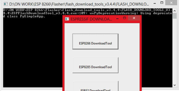 download-esp8266-flashing-tool