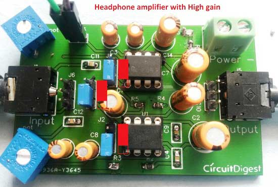 headphone-amplifier-PCB-high-gain