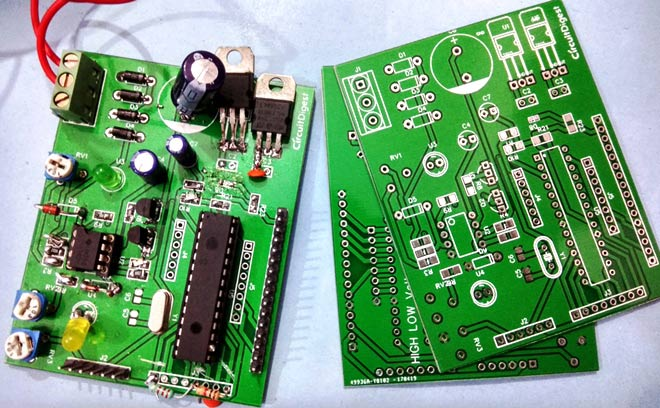 High/Low Voltage Detection and Protection Circuit using PIC