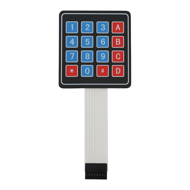4x4 Keypad matrix