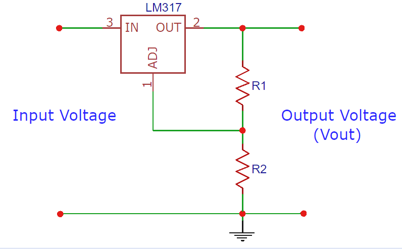 LM317 Resistor and Voltage Calculator