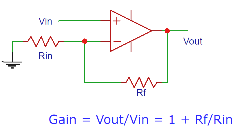 Non inverting op-amp