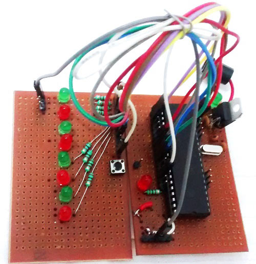 perf-boards-for-LED-blinking-squence-in-PIC-microcontroller