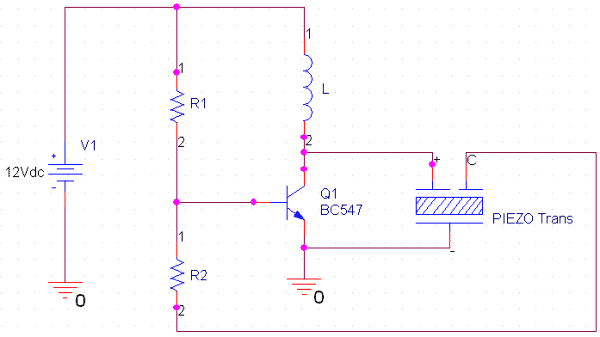 piezoelectric transducer circuit working and applications of rh circuitdigest com CBG Wiring-Diagram Volume Control Wiring Diagram