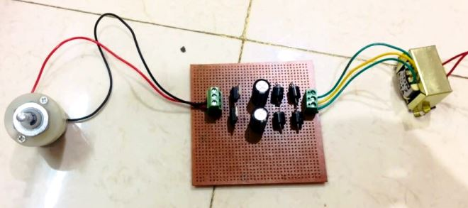 postive negative 12v-dual power supply circuit