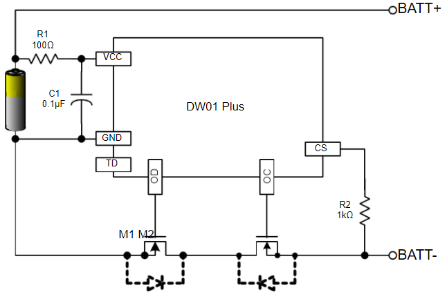 protection circuit for TP4056A Module diy power bank circuit diagram how to make a power bank for your  at bakdesigns.co