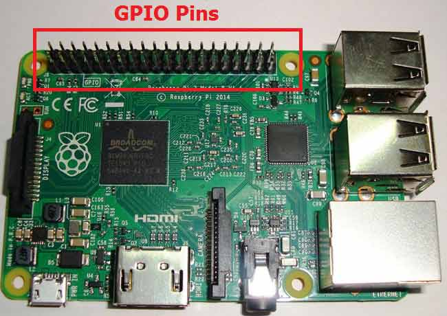 Raspberry pi GPIO pins