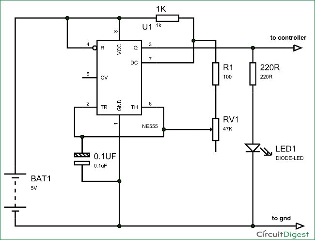Frequency Counter Schematic Diagram : Arduino frequency counter tutorial with circuit diagrams