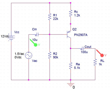 Transistor as Amplifier