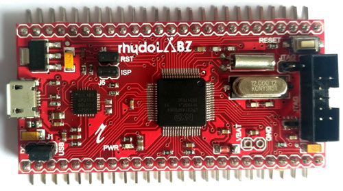 ARM7 Stick LPC2148 Board