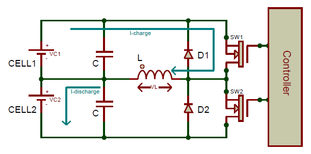 Active Cell Balancing by Inductive Converter