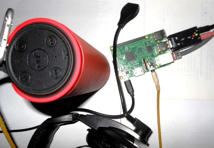 Amazon Echo using a Raspberry-Pi in action