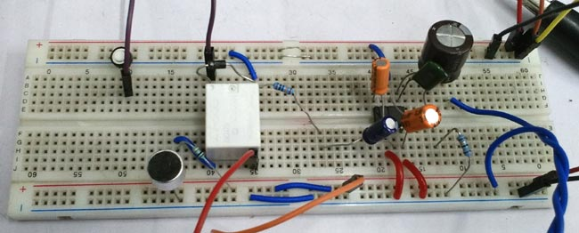 Audio Voice-Over Circuit Hardware using LM386