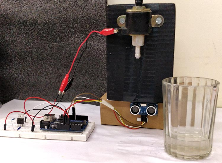 Automatic Water Dispenser using Arduino