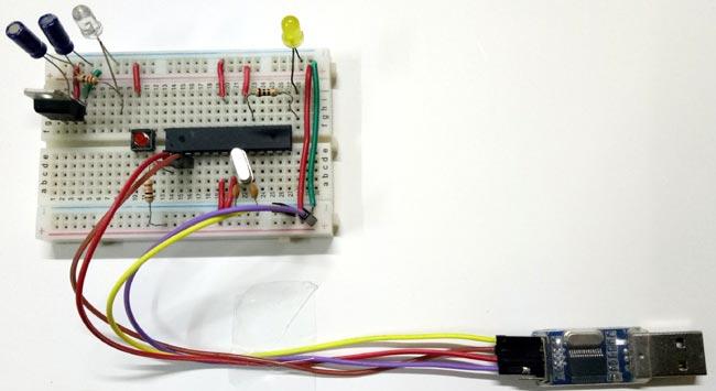 Breadboard Arduino Circuit