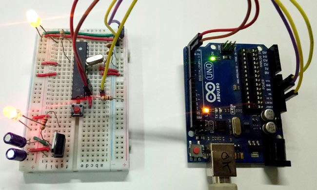 Circuit Hardware for DIY Breadboard Arduino Circuit