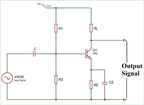 Class A Push Pull Amplifier Circuit Diagram