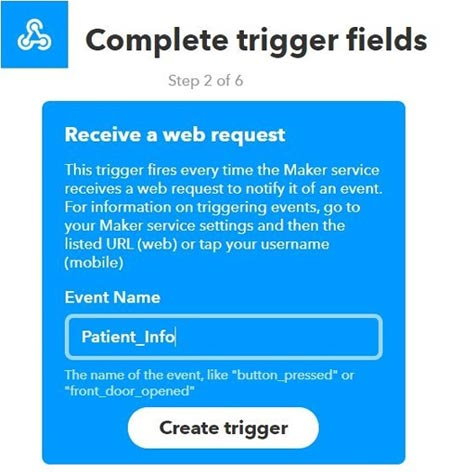 Complete Trigger Fields