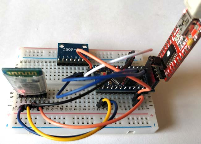 DIY Arduino Inclinometer using MPU6050 Hardware