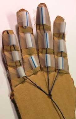 DIY basic hand using cardboard